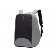 15.6in Travel Backpack with USB Charging Port Anti-theft and Waterproof