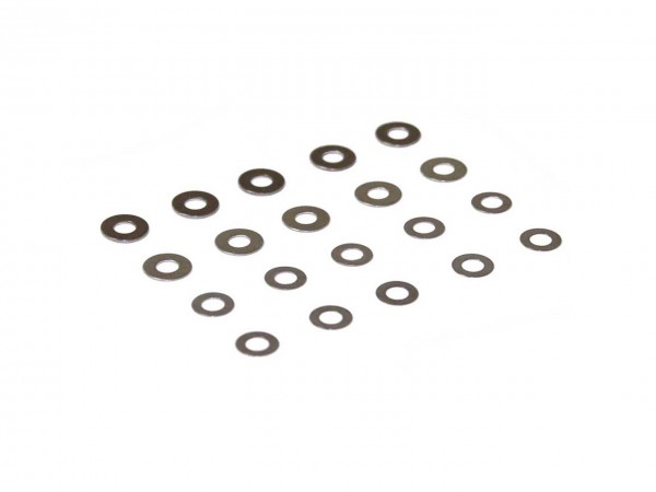 AOLS Shim Kit 20 Pieces Stainless Steel For Gearbox
