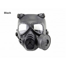 AOLS Gas Mask One-pot With Adjustable Strap for Wargame and Airsoft Tactical Protective