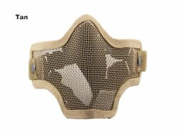 AOLS Face Mask Steel Mesh Lower Half Face For Paintball & Airsoft