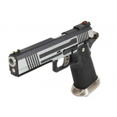 AW HX1001 Split Silver Slide Gas Blow Back Airsoft Pistol