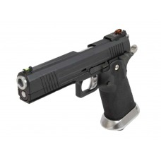 AW HX1002 Split Black Slide Gas Blow Back Airsoft Pistol