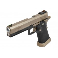 AW HX1003 Split Black Slide Gas Blow Back Airsoft Pistol
