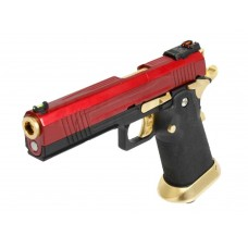 AW HX1004 Split Black Slide Gas Blow Back Airsoft Pistol