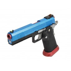 AW HX1005 Split Blue Slide Gas Blow Back Airsoft Pistol