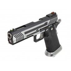 AW HX1101 Full Metal Silver Slide Gas Blow Back Airsoft Pistol