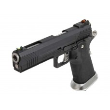 AW HX1102 Full Metal Black Slide Gas Blow Back Airsoft Pistol