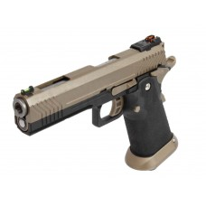 AW HX1103 Full Metal FDE Slide Gas Blow Back Airsoft Pistol