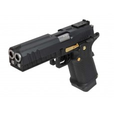 AW HX2102 Split BK Slide Gas Blow Back Airsoft Pistol