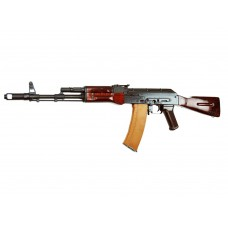 Airsoft Rifle Gun AEG AK74 NV E&L-A102 Full Metal Wooden Stock