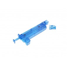 PPS Airsoft 6mm BBs loader Plastic Blue 90rd