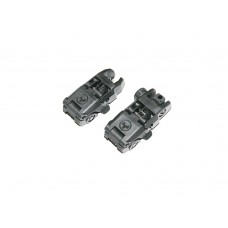 Airsoft Front and rear sight  plastic Magpul Mbus type