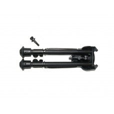 SHS Metal Bipod Long Type CNC Machined Black