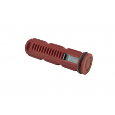 Airsoft Piston 1 tooth with POMC piston head Red color