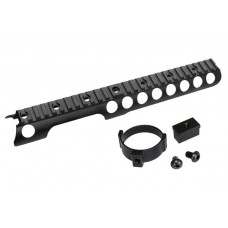 Airsoft Aluminium Alloy material rail for M870