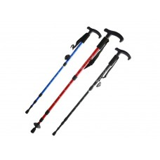 Trekking Poles T type Four-mast collapsible aluminum alloy