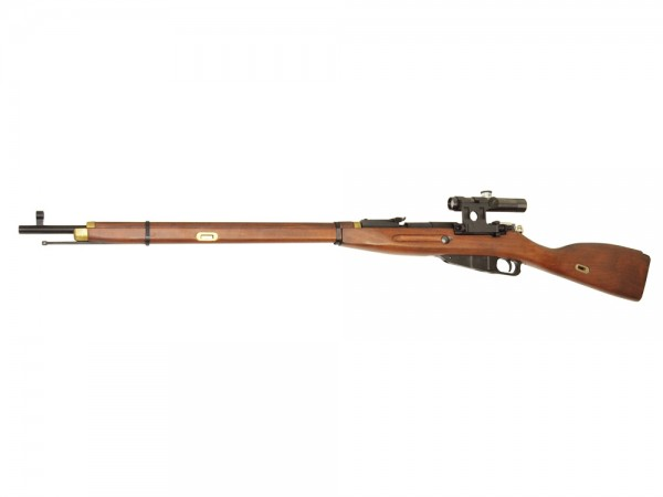 Mosin-Nagant Model 1891/30 Gas Powered Sniper Rifle With Scope