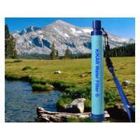 KIKAR Personal Water Filter for Hiking Camping Travel and Emergencies
