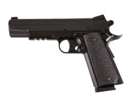 KWC 1911 GSR SiGARMS Stainless Rail Slide CO2 NBB Pistol