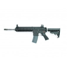 WE 4168 BK Co2 Open Bolt 6mm Blow Back Airsoft Rifles