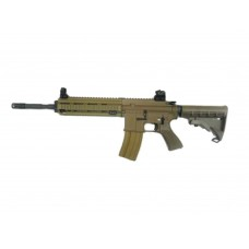 WE 4168 TAN Co2 Open Bolt 6mm Blow Back Airsoft Rifles