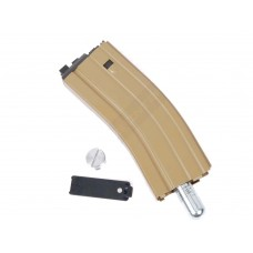 WE PDW-T Open Bolt TAN Co2 Airsoft Magazine