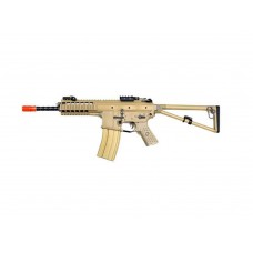 WE PDW 10 Inch TAN Open Bolt 6mm Co2 Blow Back Airsoft Rifles