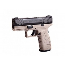 WE XDM 3.8 COMPACT TAN 6mm Gas Blow Back Airsoft Pistol