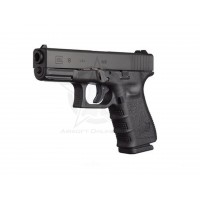WG Full Metal Glock 19 6mm CO2 Airsoft Pistol - Black