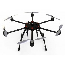 Flycker Hexrcopter DC Drone MH650-V2 ARF For Aerial Photography