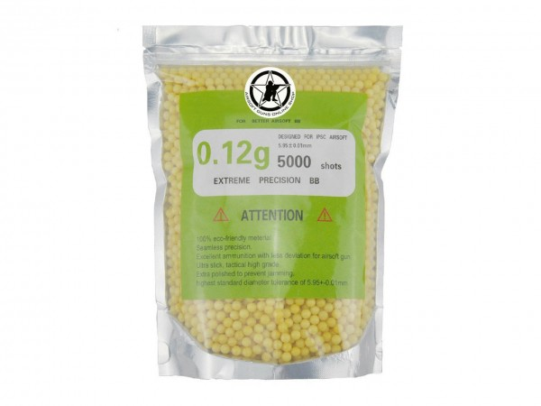 AOLS Airsoft BBs 6mm 0.12g 5000rds
