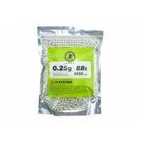 AOLS Airsoft BBs 6mm 0.25g 4000rds High Strength