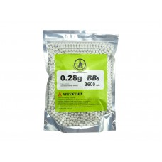 AOLS Airsoft BBs 6mm 0.28g 3600rds High Strength