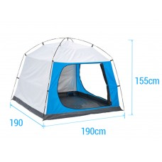DECATHLON Family Camping Tent 3-4 person ,anti - UV awning Three Seasons Tent