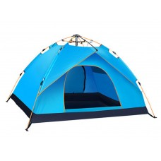 TXZ outdoor 3-4 two bedrooms and one bedroom automatic family camping tent