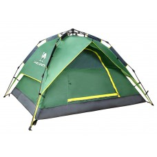 CAMEL 3-4 People Fully Automatic Double Layer Windproof & Waterproof Outdoor Camping Tent A5W3H8101