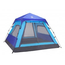 CAMEL Outdoor Tent 3-4 People Camping Double Rain Four Seasons Tent A5W3H8103