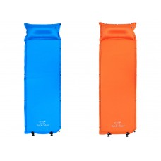 Trackman Outdoor Single Self-inflating Sleeping Pad with Pillow for Hiking,Camping & Travel